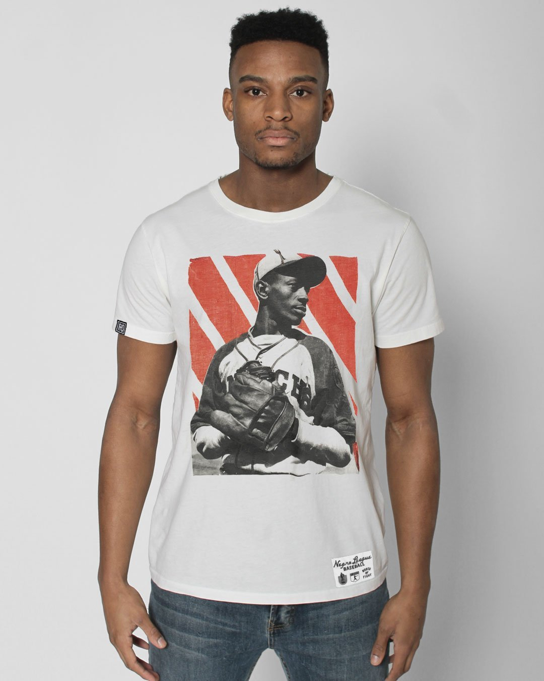 BHT - Satchel Paige Photo Tee - Roots of Inc dba Roots of Fight