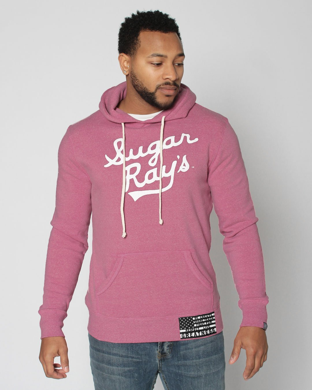 BHT - Sugar Ray Robinson Pullover Hoody - Roots of Inc dba Roots of Fight