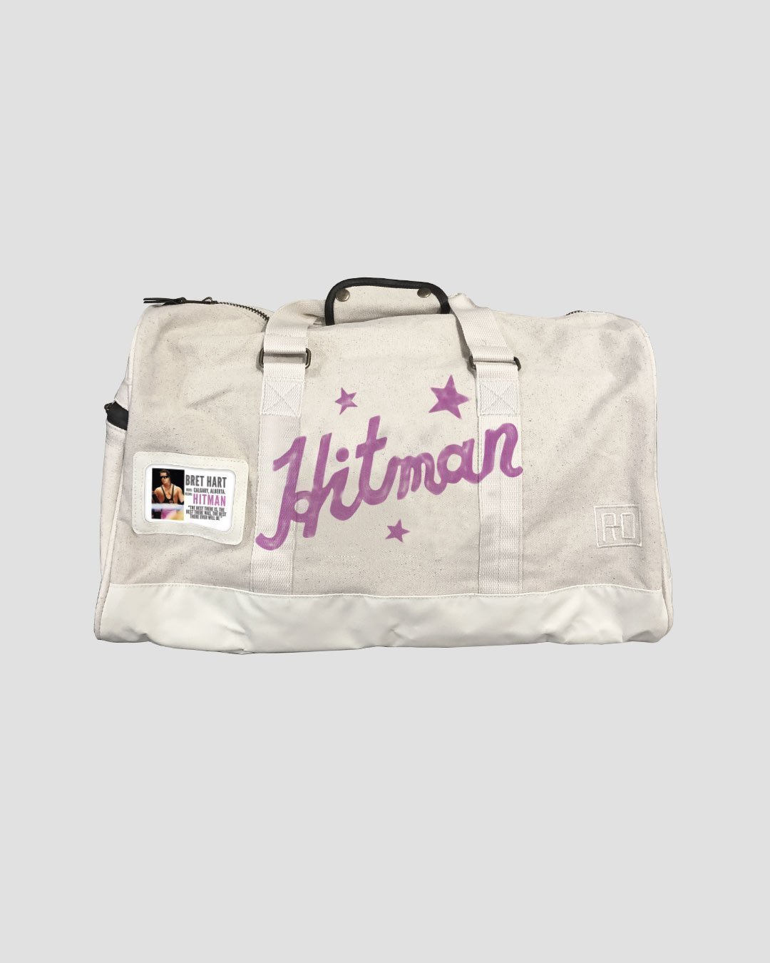 Bret Hart Hitman Duffle Bag - Roots of Inc dba Roots of Fight