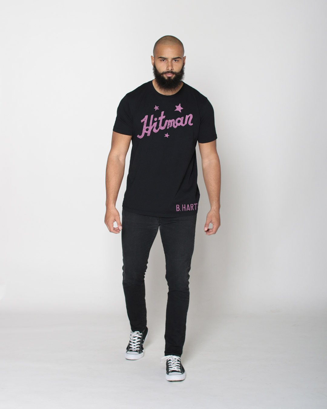 Bret Hart Hitman Legacy Tee - Roots of Inc dba Roots of Fight