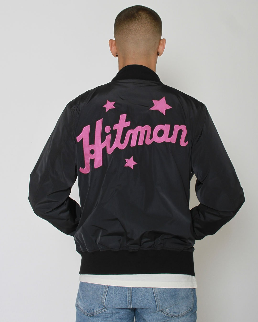 Bret Hart Hitman Stadium Jacket - Roots of Inc dba Roots of Fight