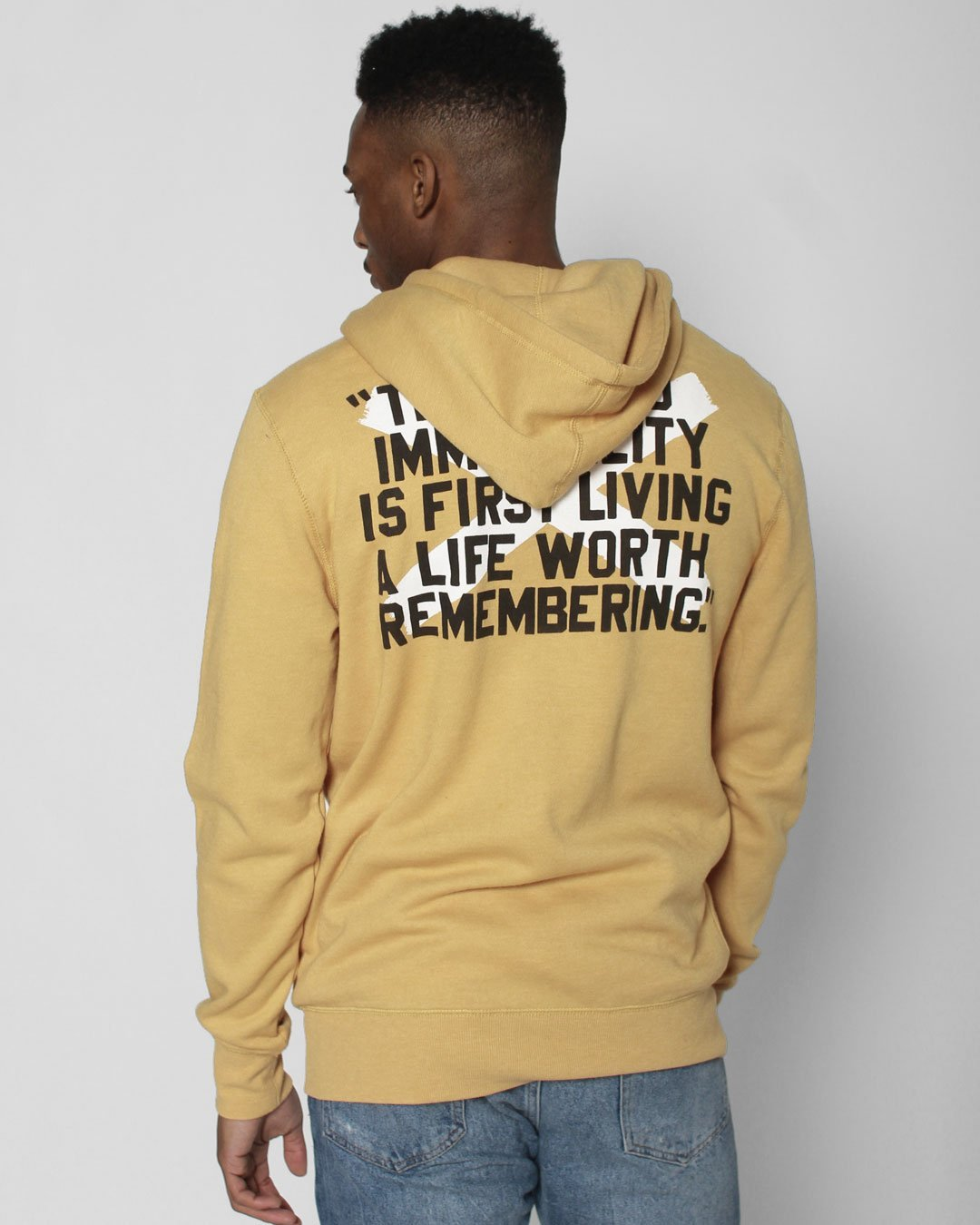 Bruce Lee 80 FZ Hoody - Roots of Inc dba Roots of Fight
