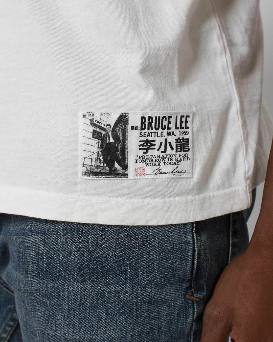 Bruce Lee - Ruby Chow's Tee - Roots of Inc dba Roots of Fight