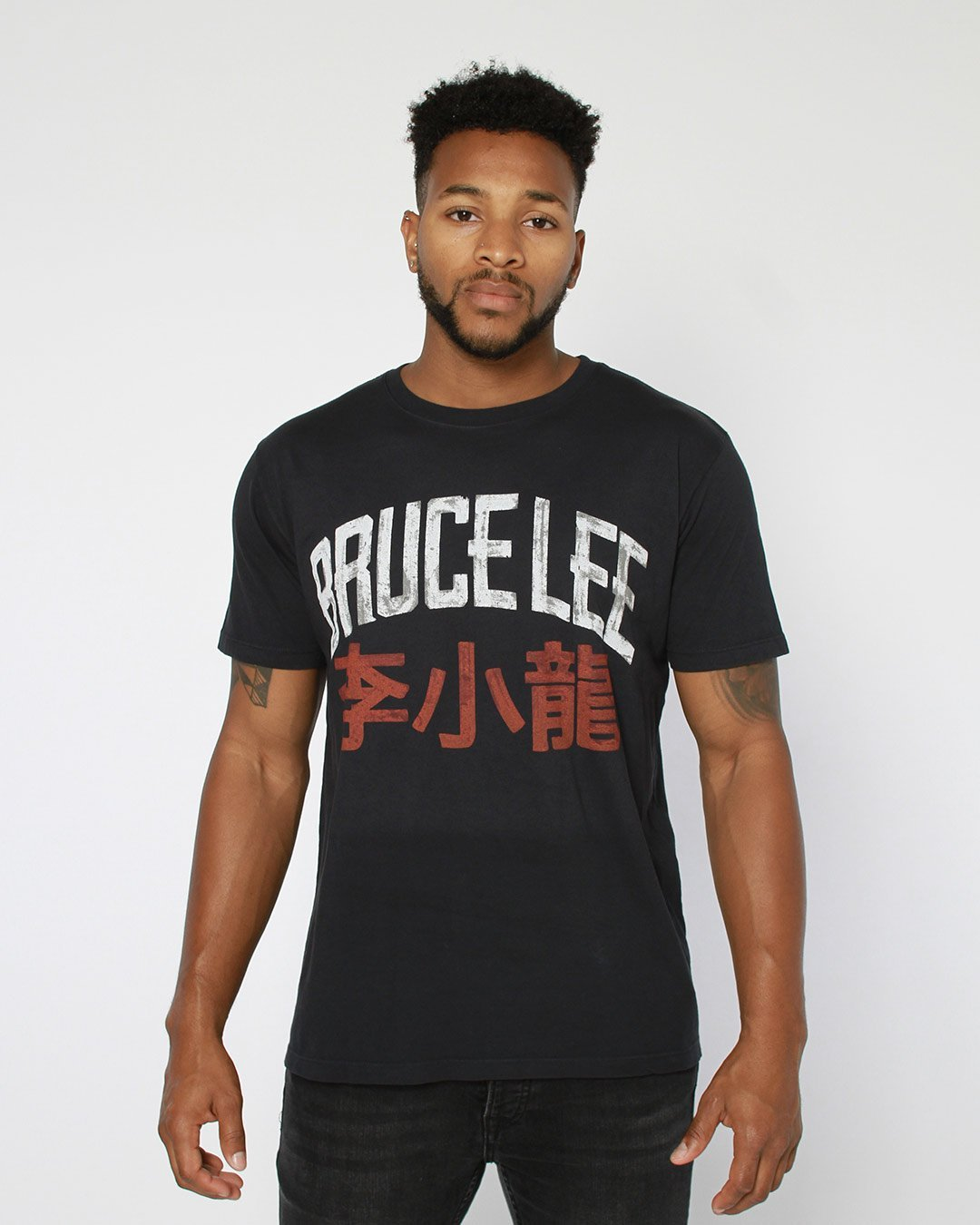 Bruce Lee Script Tee - Roots of Inc dba Roots of Fight