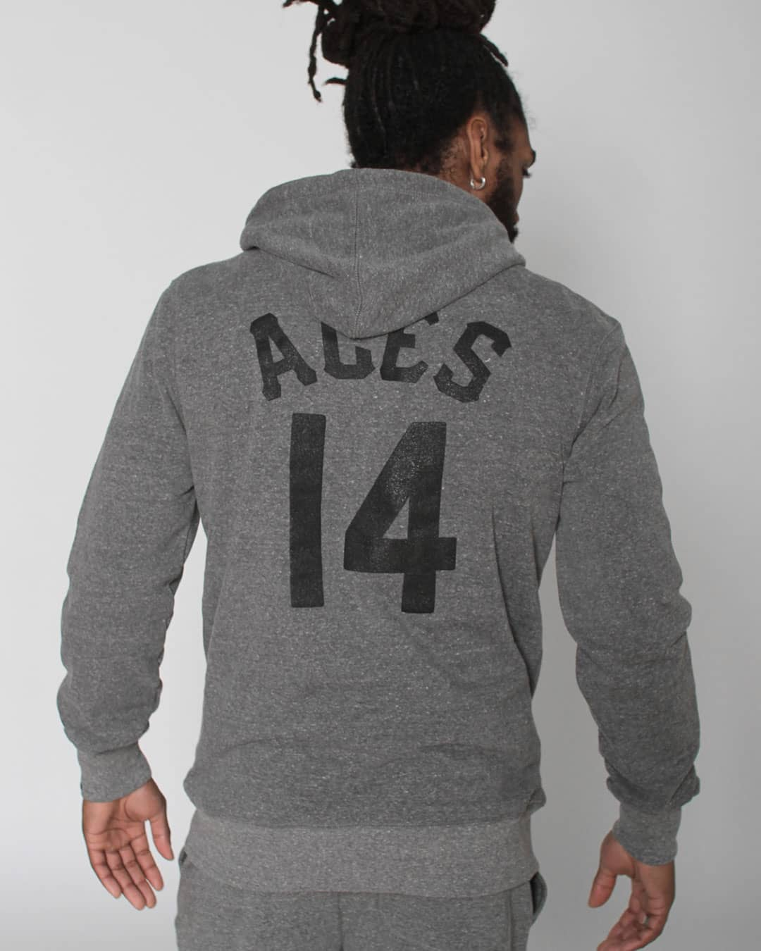 "CC Sabathia ""Black Aces"" Pullover Hoody - Roots of Inc dba Roots of Fight"