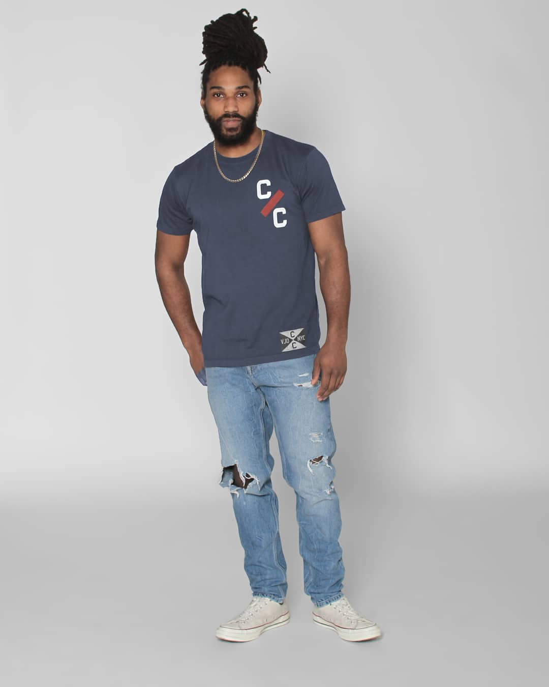 CC Sabathia NY #52 Tee - Roots of Inc dba Roots of Fight