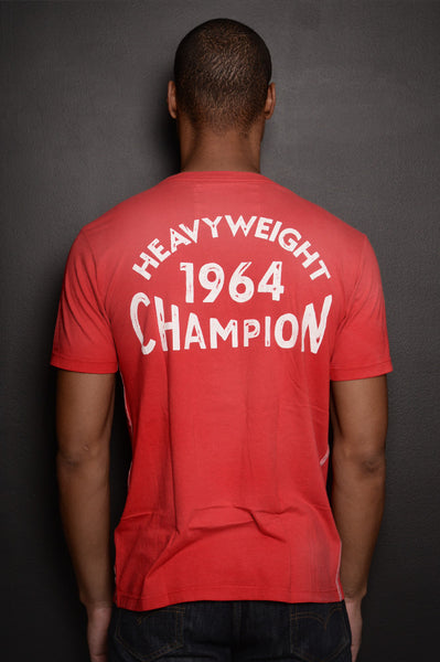Cassius Clay 1964 Champion Sun Faded Tee