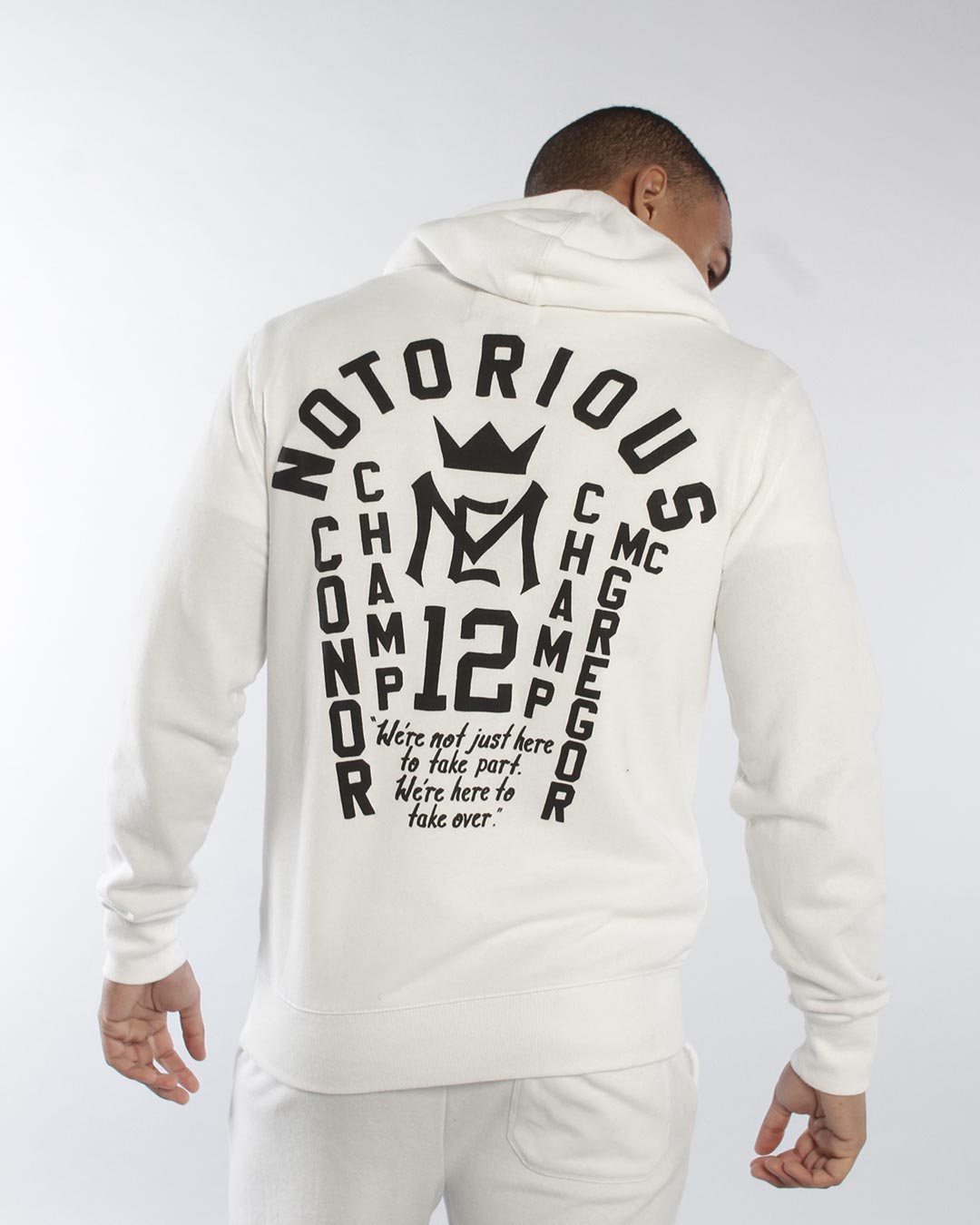 Conor McGregor Champ Champ Pullover Hoody - Roots of Inc dba Roots of Fight