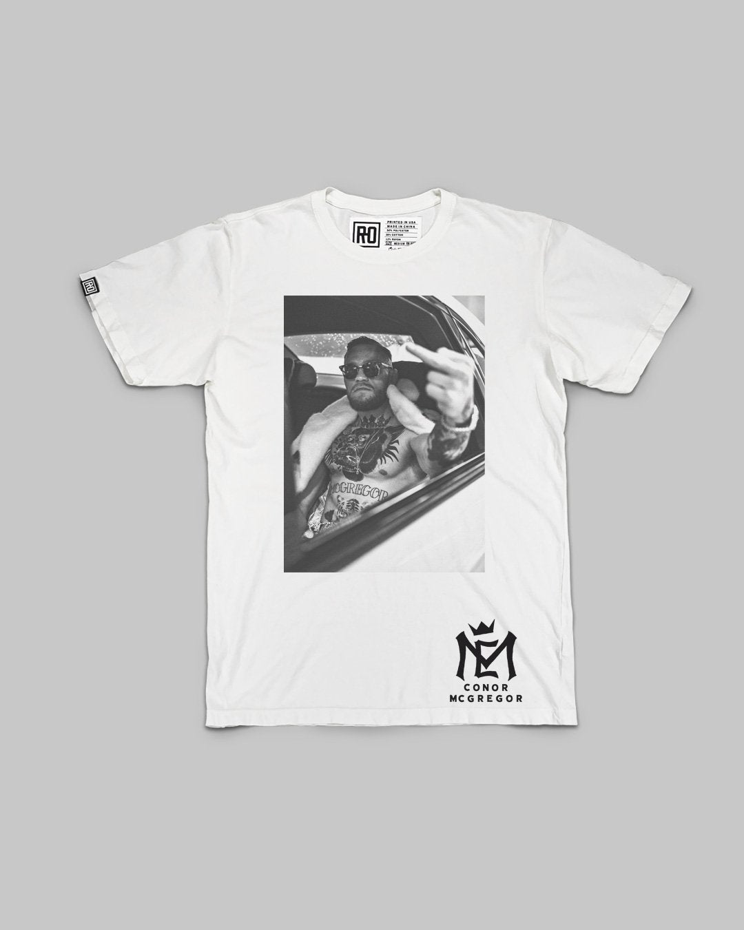 Conor McGregor Mystic Mac Photo Tee - Roots of Inc dba Roots of Fight