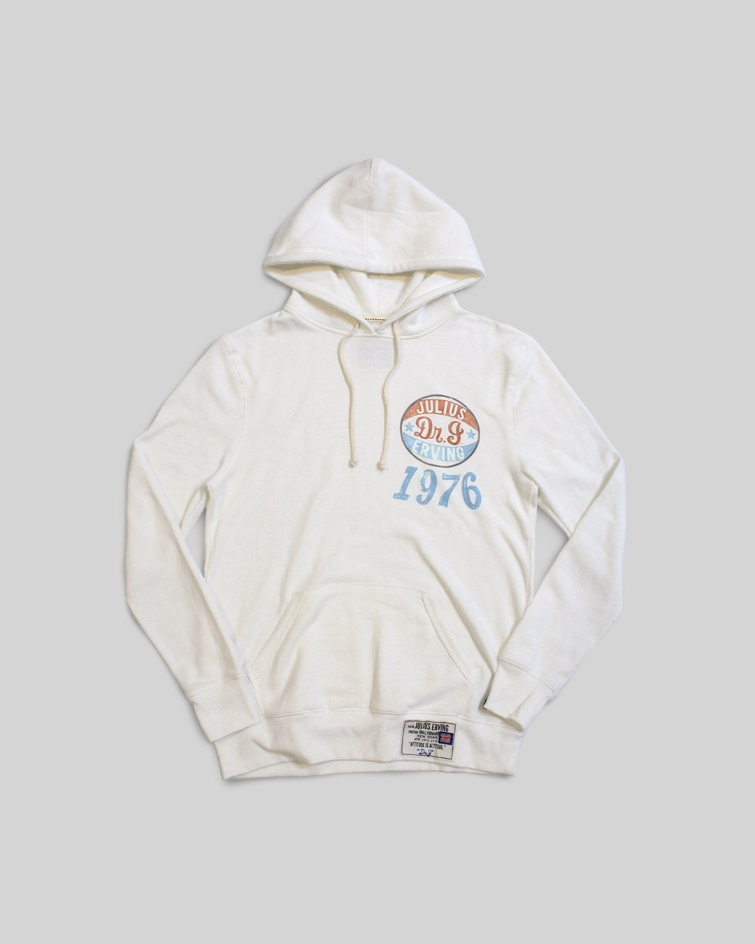Dr. J 1976 Pullover Hoody - Roots of Inc dba Roots of Fight