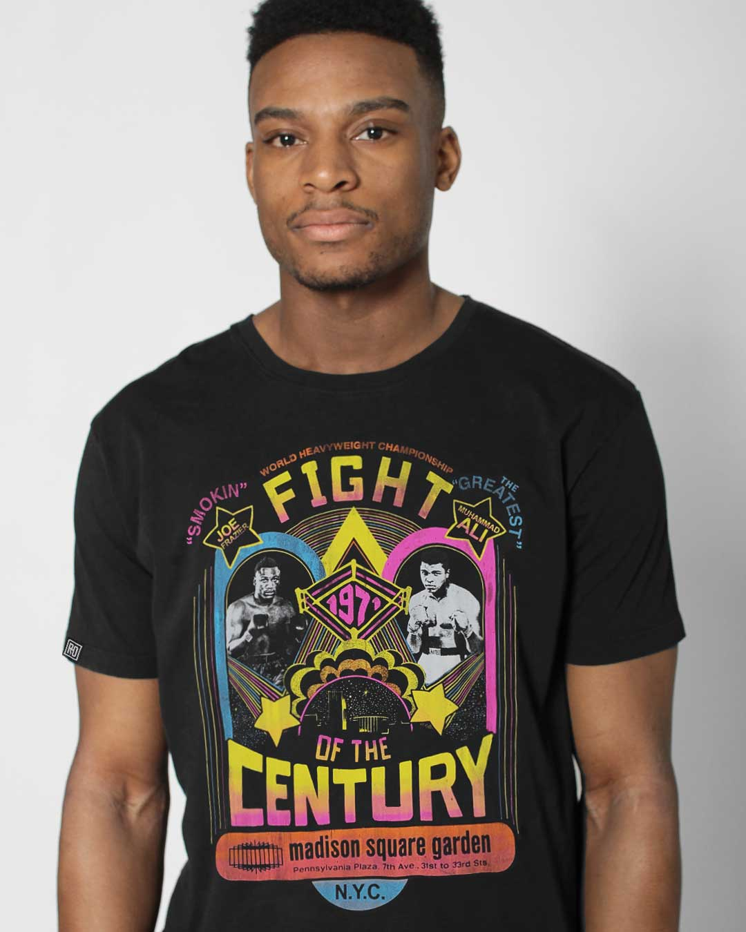 FOTC - Ali/Frazier Poster Tee - Roots of Inc dba Roots of Fight