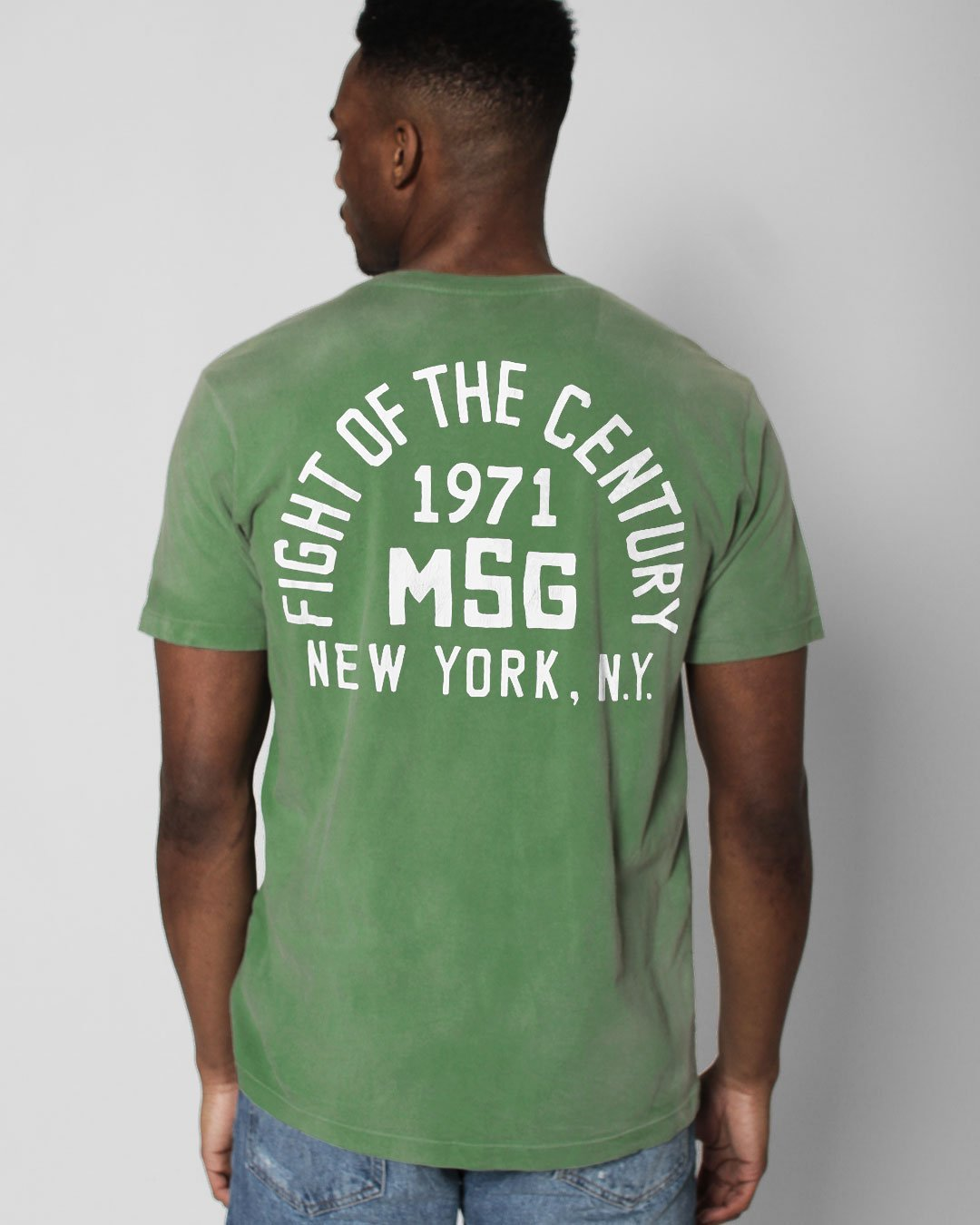 FOTC - Frazier 1971 MSG Tee - Roots of Inc dba Roots of Fight