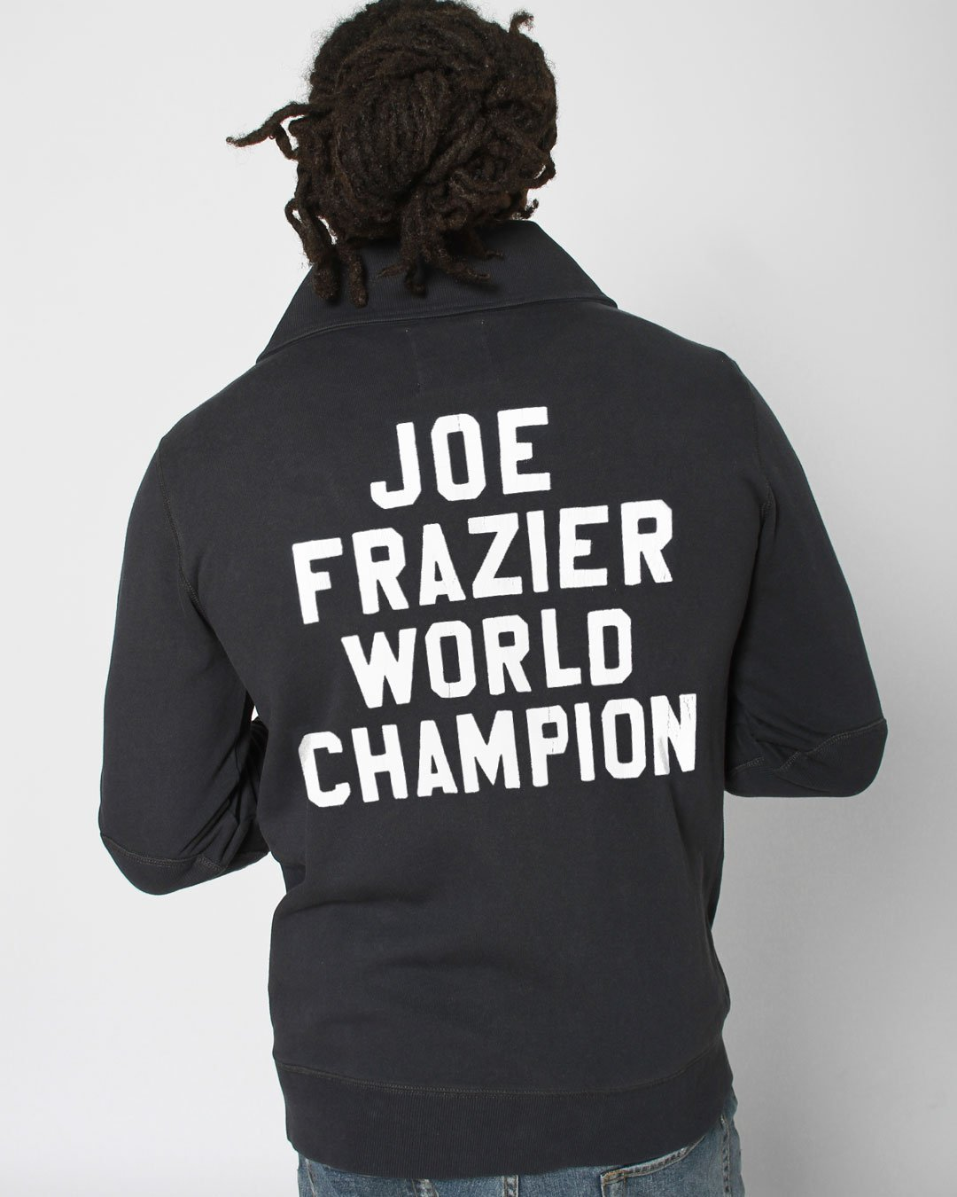 Frazier Heavyweight Champ Cardigan - Roots of Inc dba Roots of Fight