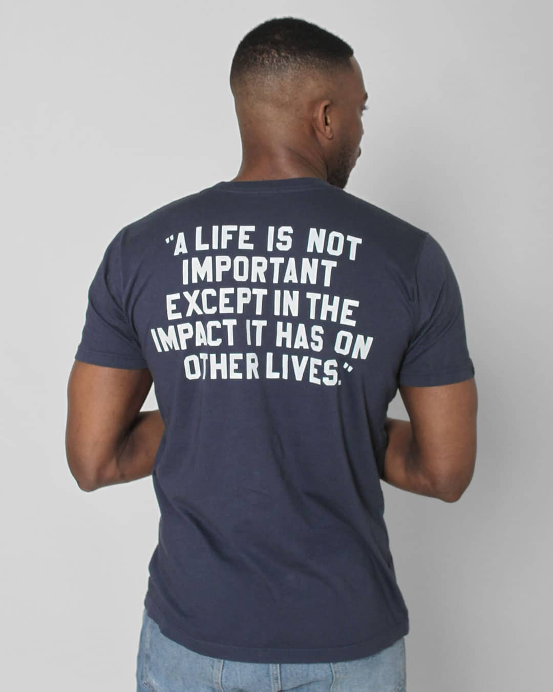 Jackie Robinson 42 Quote Tee - Roots of Inc dba Roots of Fight