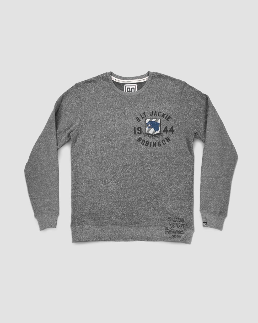 Jackie Robinson Come Out Fighting Sweatshirt - Roots of Inc dba Roots of Fight