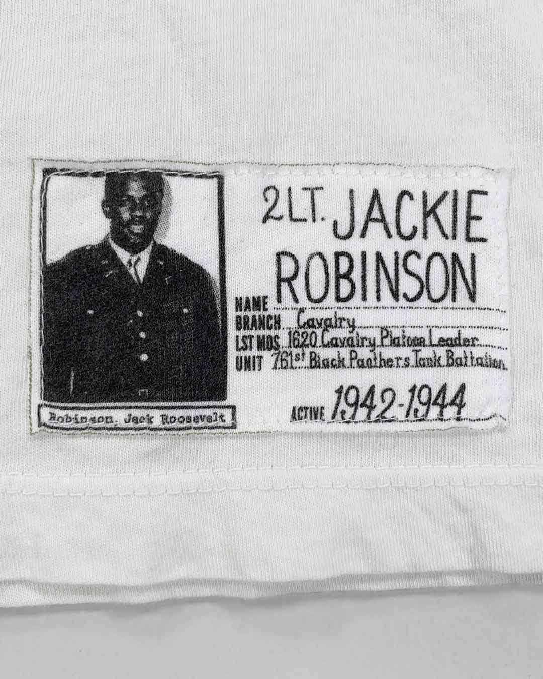 Jackie Robinson Come Out Fighting Tee - Roots of Inc dba Roots of Fight