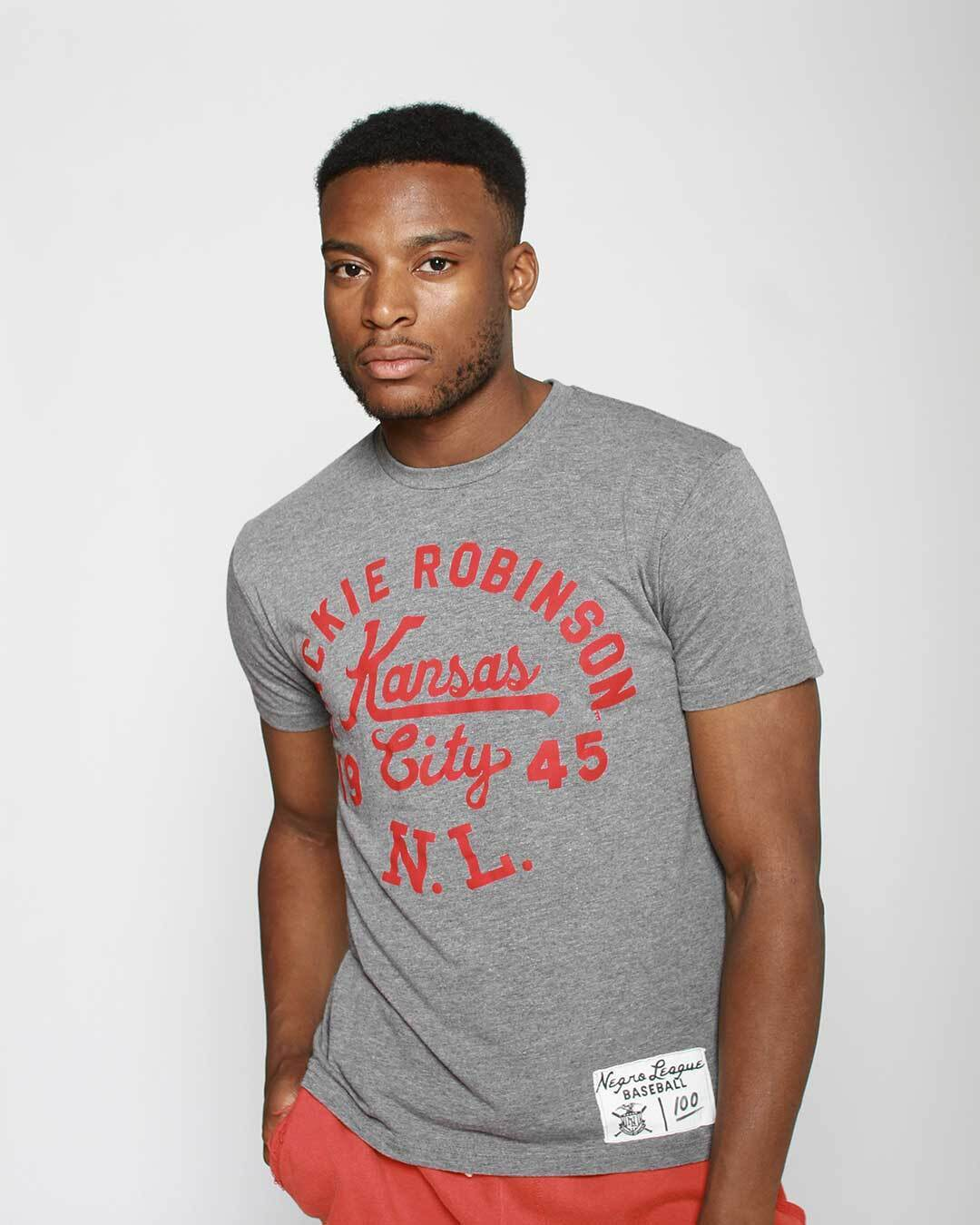 Jackie Robinson Negro League Tee - Roots of Inc dba Roots of Fight