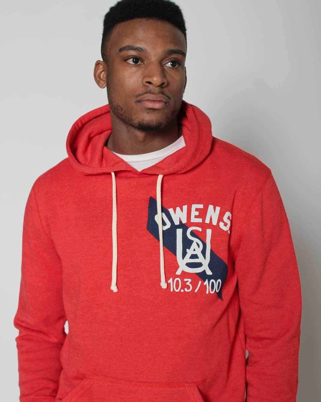 Jesse Owens Ground Breakers Pullover Hoody - Roots of Inc dba Roots of Fight