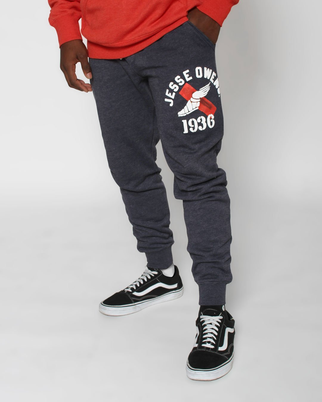 Jesse Owens Ground Breakers Sweatpants - Roots of Inc dba Roots of Fight