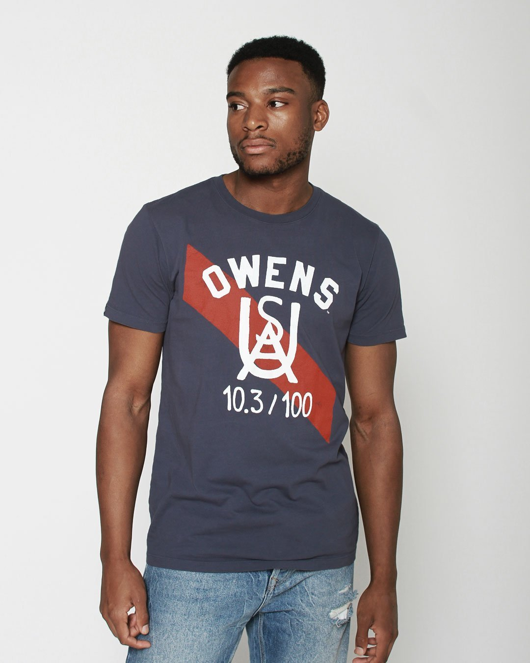 Jesse Owens Ground Breakers Tee - Roots of Inc dba Roots of Fight