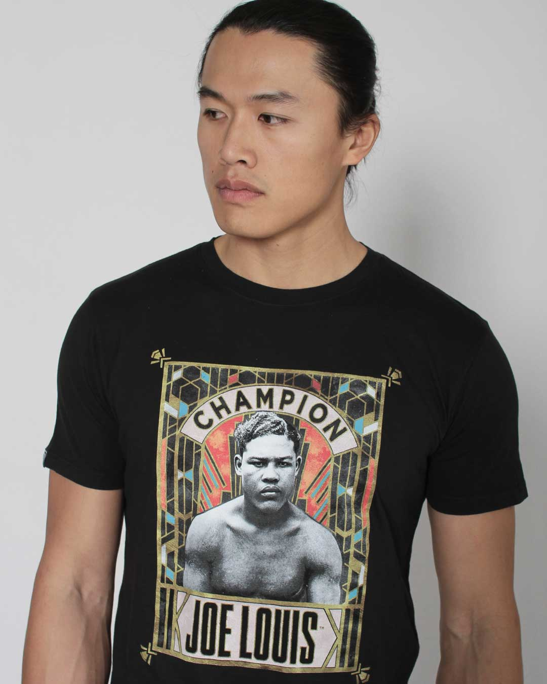 Joe Louis Champion Photo Tee - Roots of Inc dba Roots of Fight