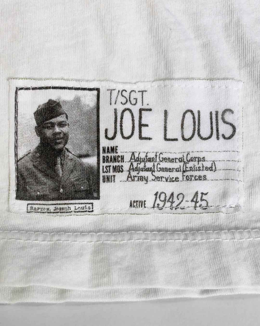 Joe Louis Fort Riley 1942 Tee - Roots of Inc dba Roots of Fight