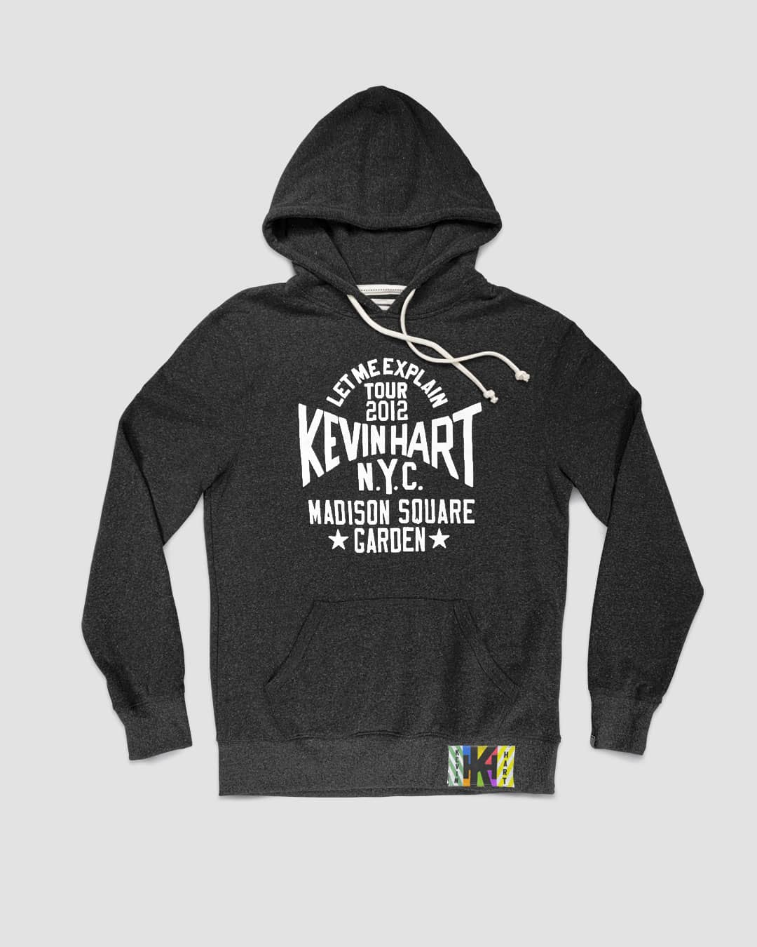 "Kevin Hart ""Let Me Explain"" MSG Black Hoody - Roots of Inc dba Roots of Fight"