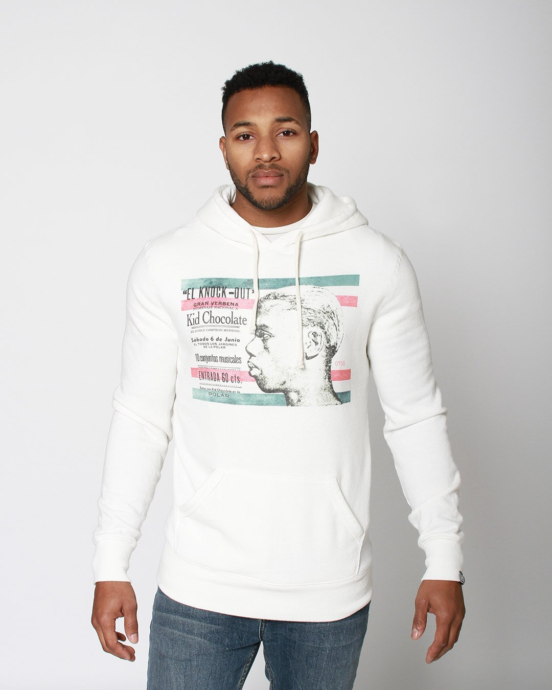 Kid Chocolate 'El Knock-Out' Pullover Hoody - Roots of Inc dba Roots of Fight