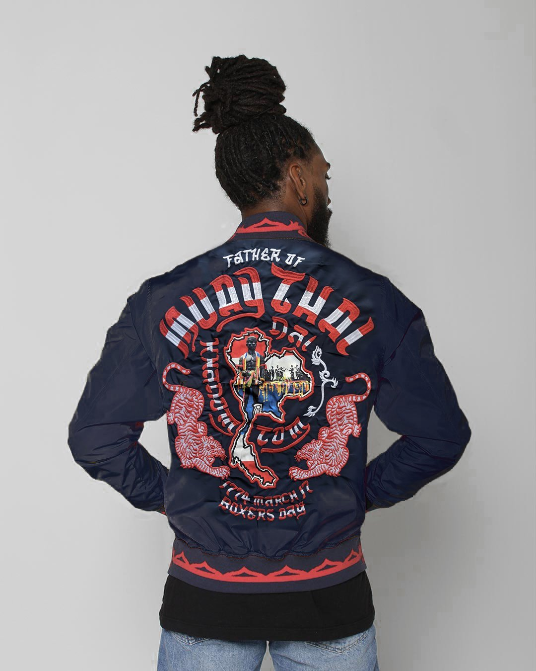Muay Thai Legacy Stadium Jacket - Roots of Inc dba Roots of Fight