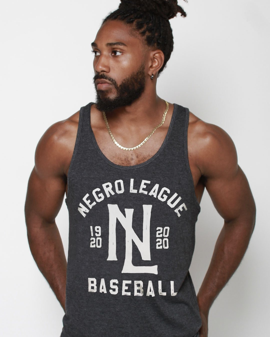 Negro League Baseball Centennial Tank - Roots of Inc dba Roots of Fight