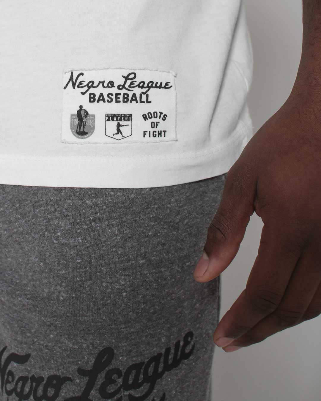 Negro League Baseball Classic Script Tee - Roots of Inc dba Roots of Fight