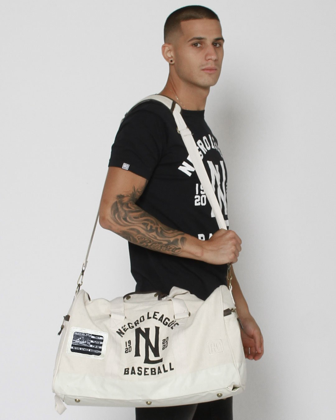 Negro League Baseball Duffle Bag - Roots of Inc dba Roots of Fight