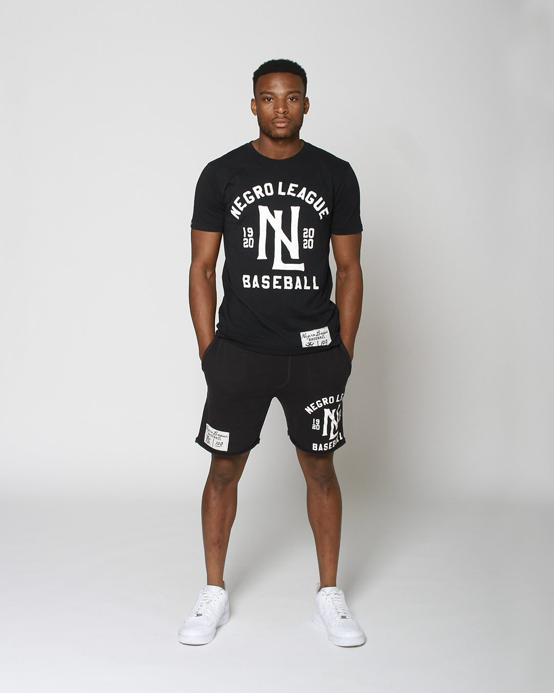 Negro League Baseball Shorts - Roots of Inc dba Roots of Fight