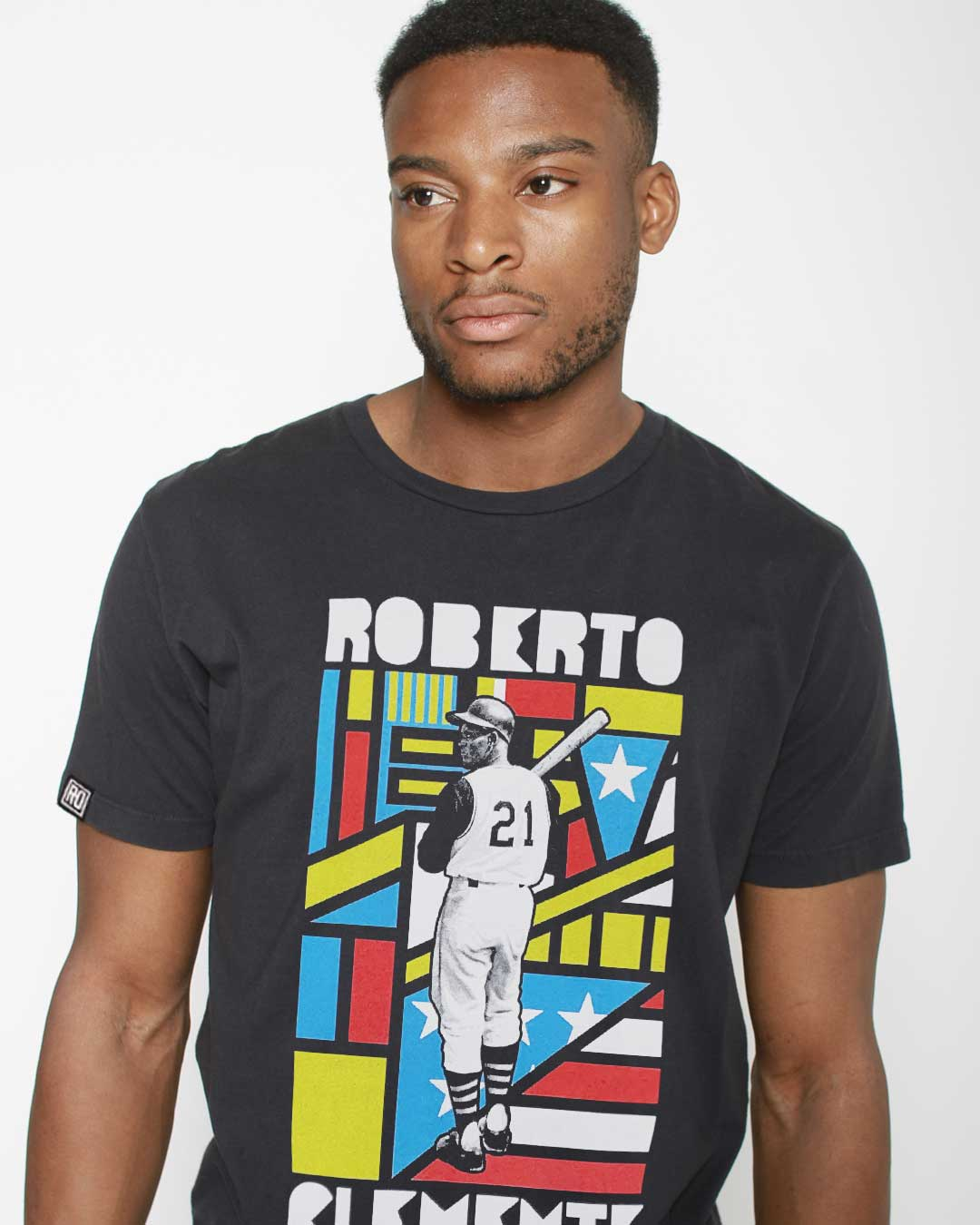 NHM - Roberto Clemente Heritage Tee - Roots of Inc dba Roots of Fight