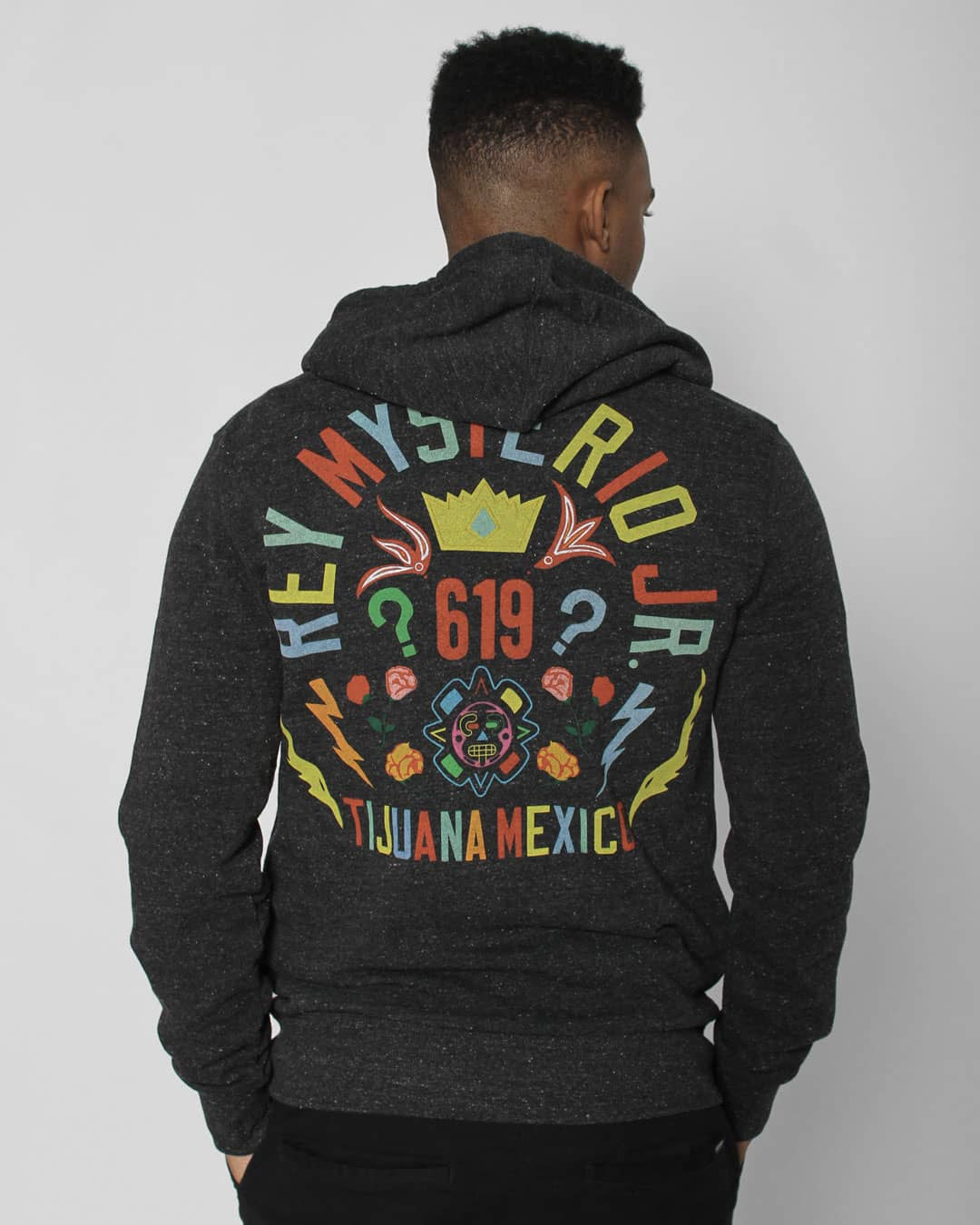 Rey Mysterio 619 Pullover Hoody - Roots of Inc dba Roots of Fight