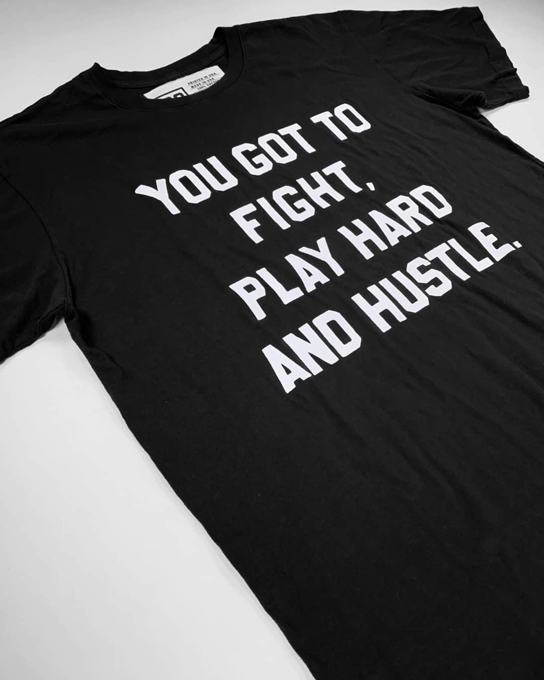 RO - Fight Play Hustle Tee - Roots of Inc dba Roots of Fight