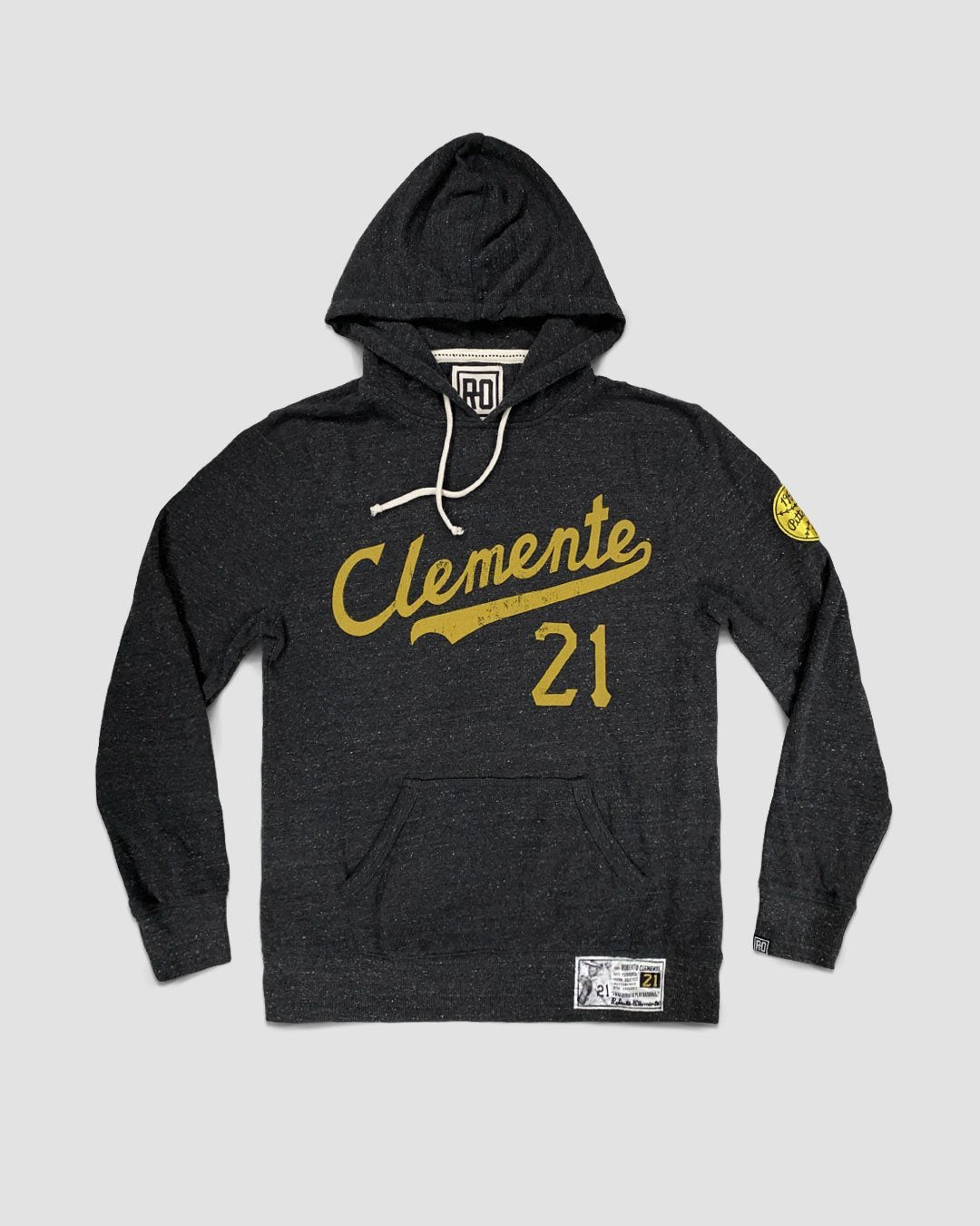 Roberto Clemente #21 Pullover Hoody - Roots of Inc dba Roots of Fight