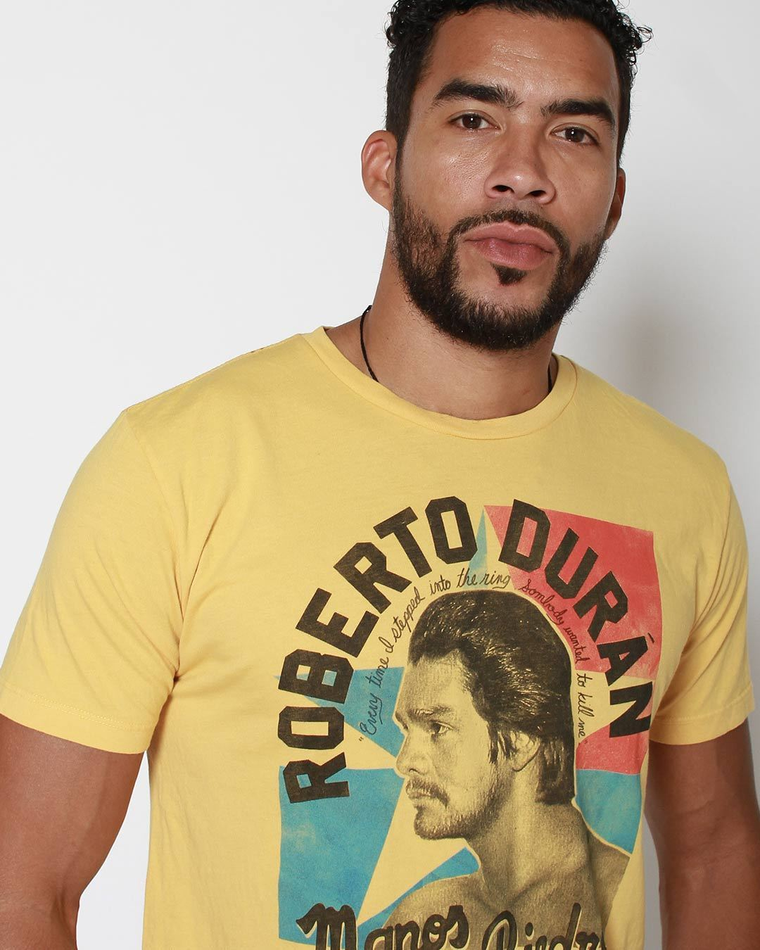 Roberto Duran 'Wanted to Kill me' tee - Roots of Inc dba Roots of Fight