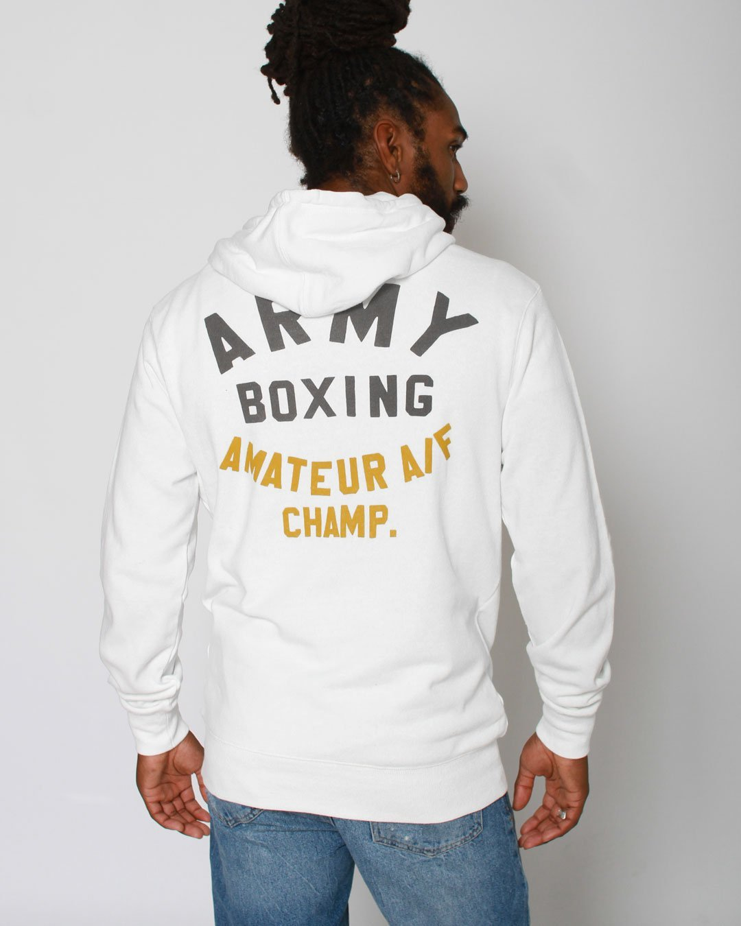 Rocky Marciano Army Boxing Pullover Hoody - Roots of Inc dba Roots of Fight