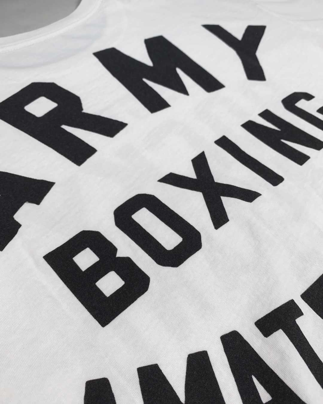 Rocky Marciano Army Boxing Tee - Roots of Inc dba Roots of Fight