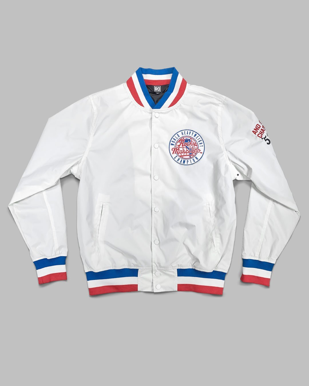 Rocky Marciano Brockton Stadium Jacket - Roots of Inc dba Roots of Fight