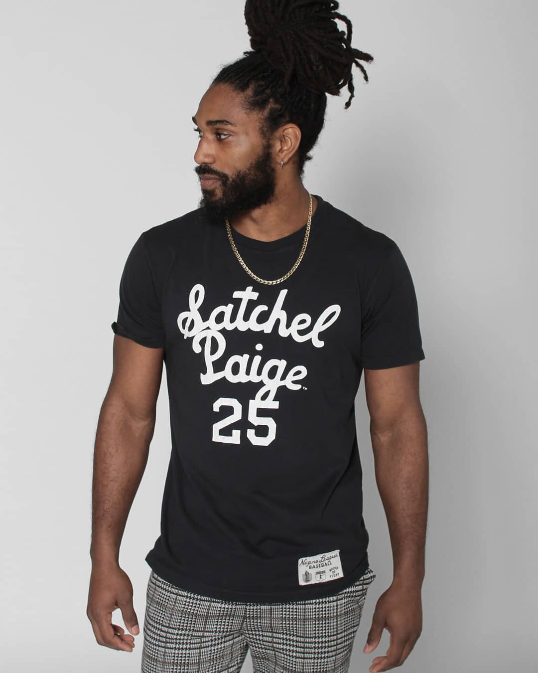 Satchel Paige 25 Tee - Roots of Inc dba Roots of Fight