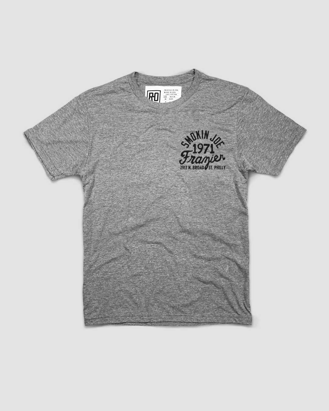 Smokin' Joe Frazier Philly Tee - Roots of Inc dba Roots of Fight
