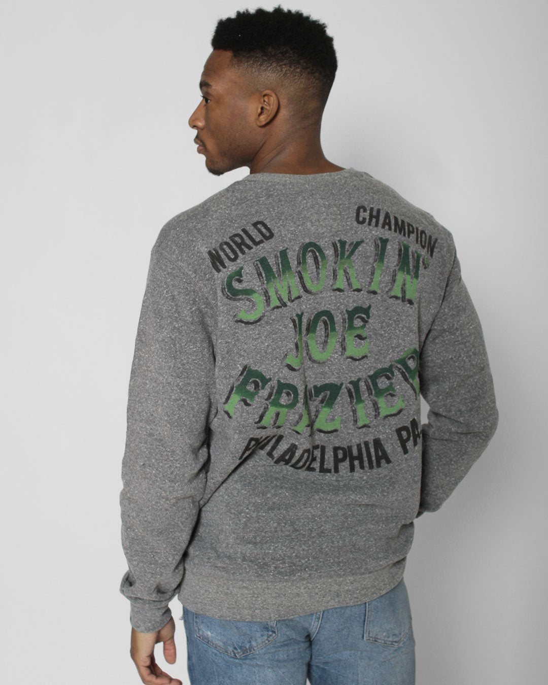 Smokin' Joe Initials Sweatshirt - Roots of Inc dba Roots of Fight