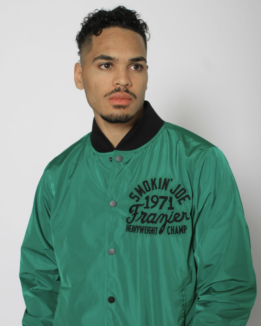 Smokin' Joe Philly's Own Stadium Jacket - Roots of Inc dba Roots of Fight