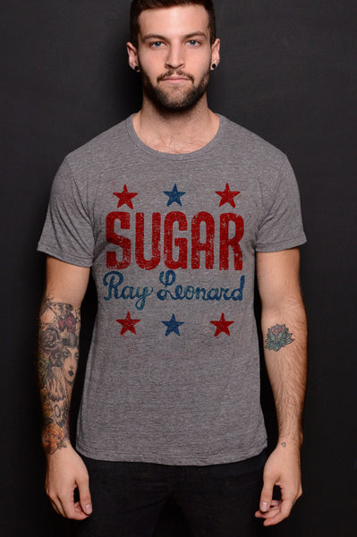 Sugar Ray Leonard Triblend Tee