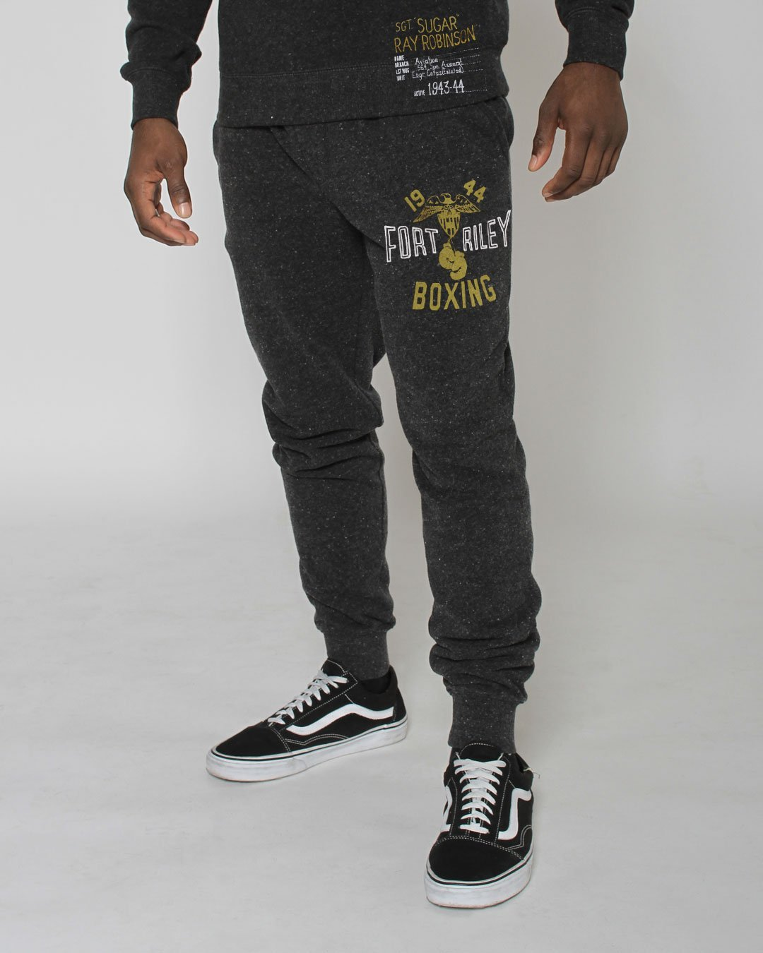 Sugar Ray Robinson Fort Riley Sweatpants - Roots of Inc dba Roots of Fight