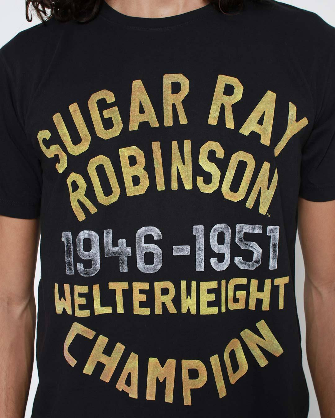 Sugar Ray Robinson Welterweight Champ Tee - Roots of Inc dba Roots of Fight