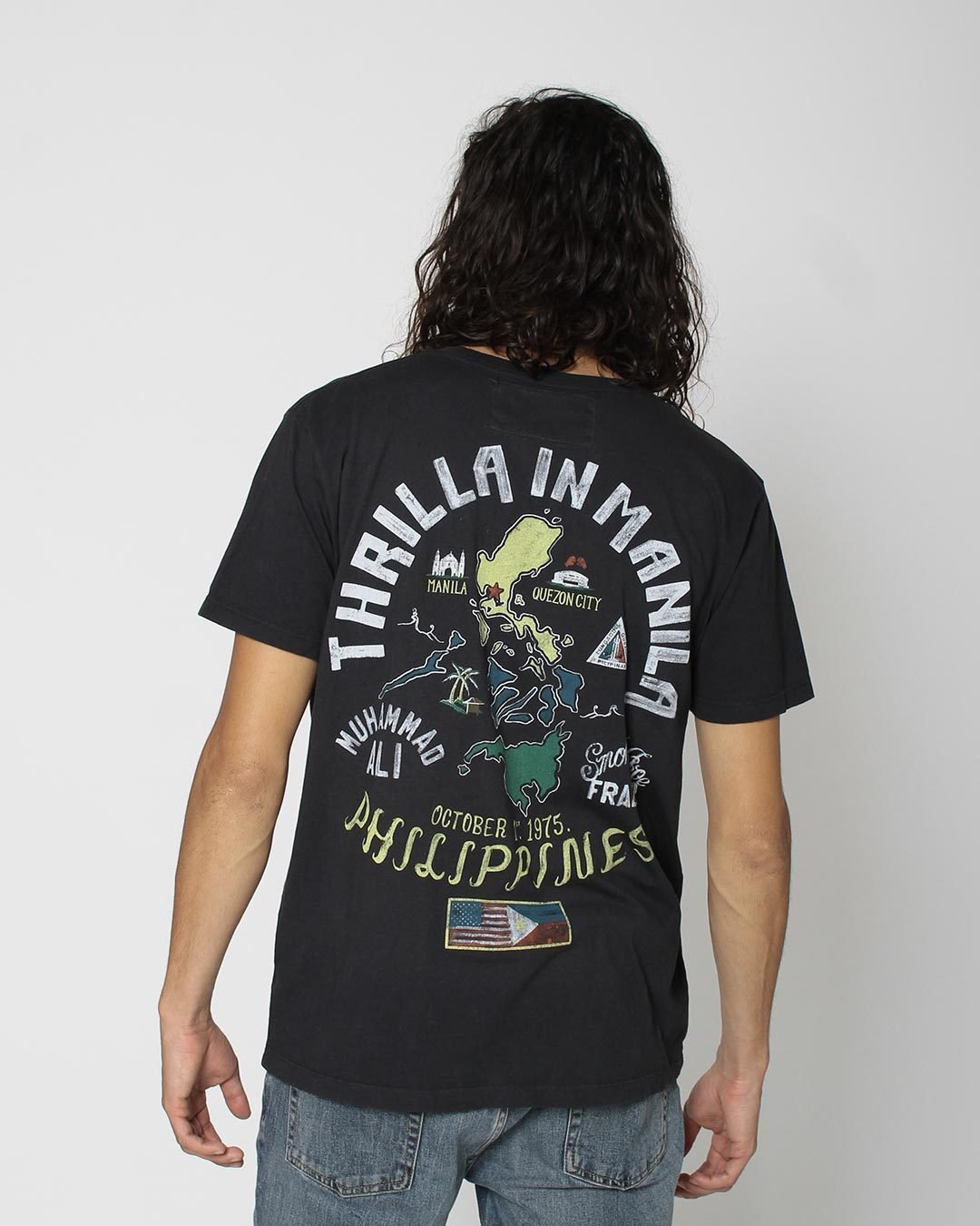 Thrilla in Manila Philippines Tee - Roots of Inc dba Roots of Fight