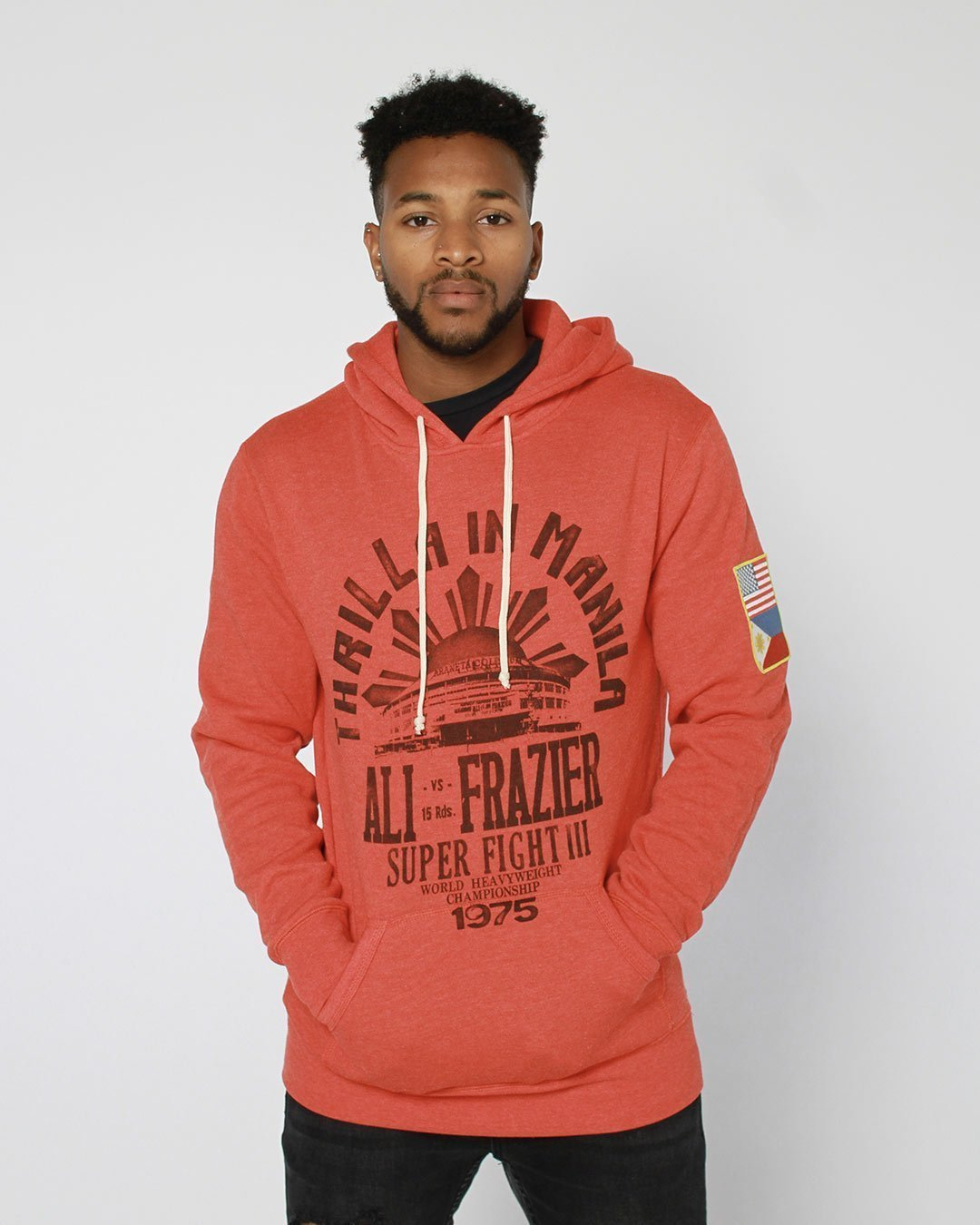 Thrilla Souvenir Pullover Hoody - Roots of Inc dba Roots of Fight